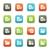 Document and Folder Icons