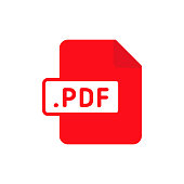 Document file type flat PDF