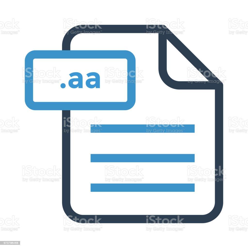 Document File vector art illustration