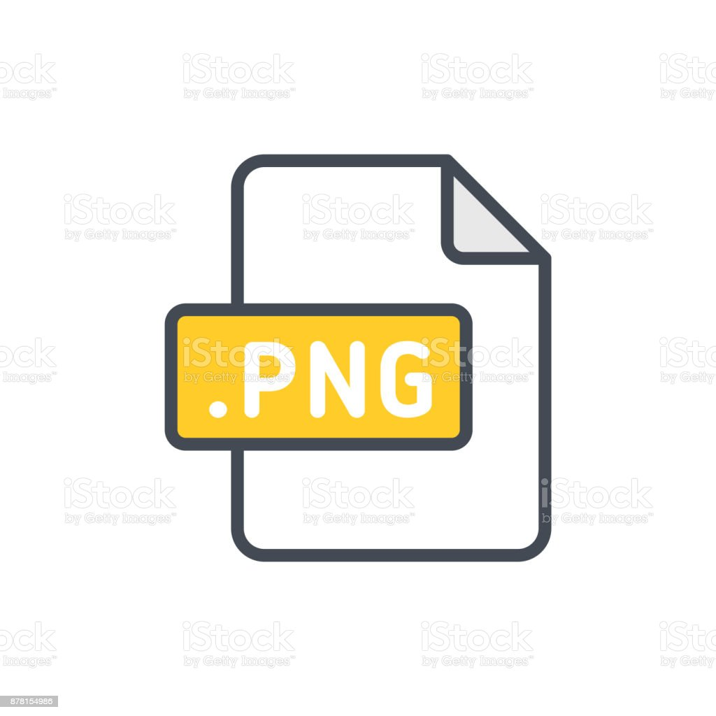 Document files colored icon png vector art illustration