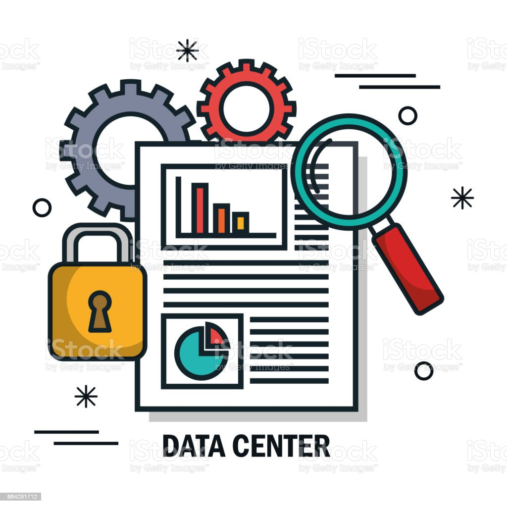 document secutiry data center isolated royalty-free document secutiry data center isolated stock vector art & more images of badge