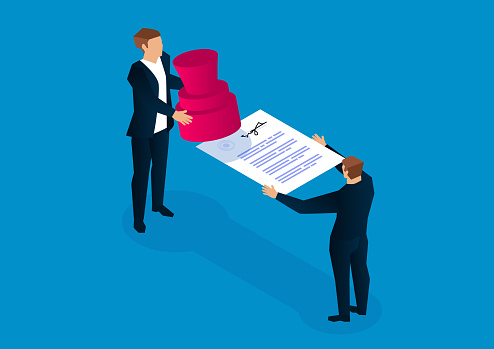 Document stamping, signing contracts, commercial agreements and cooperation