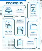 istock Documents Infographic Template 1345660793