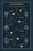 istock Documents Roadmap Infographic Template 1346421930