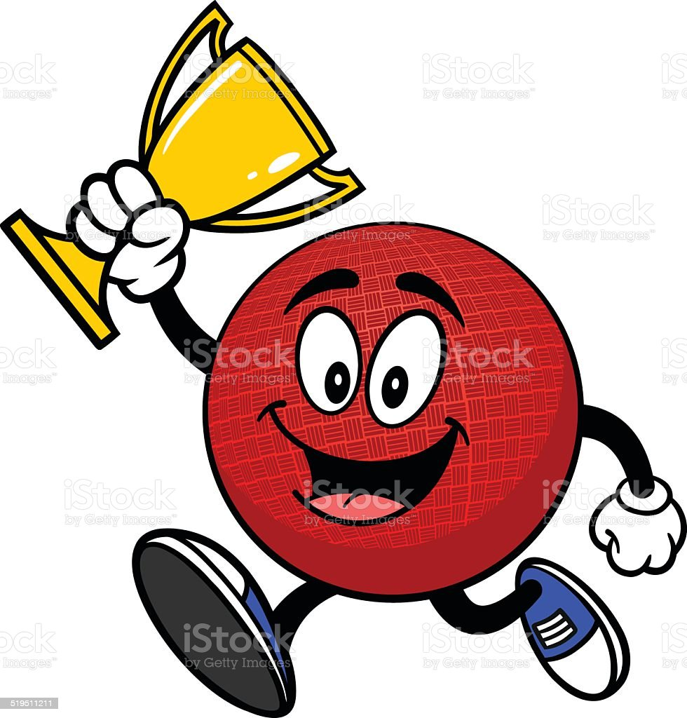Royalty Free Dodgeball Clip Art Vector Images