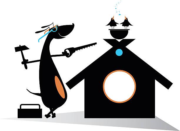 犬のビルダー - 大工点のイラスト素材/クリップアート素材/マンガ素材/アイコン素材