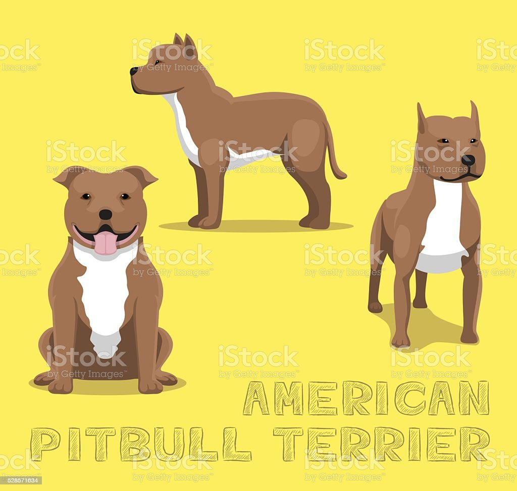 royalty free pit bull clip art vector images illustrations istock rh istockphoto com pit bull clipart png pit bull clip art black and white