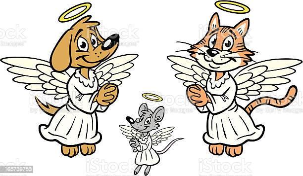 Dog and cat angels vector id165739753?b=1&k=6&m=165739753&s=612x612&h=msn96kiyv7mmw sjfvap4sj7vlkdowxnuvrtfuv l70=