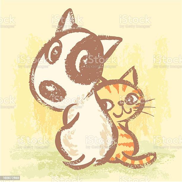 Dog and cat are turning around vector id165672893?b=1&k=6&m=165672893&s=612x612&h=ip0hwt3tmwrkaayfgwlvw7dfaqero1vf4serjfpx3is=