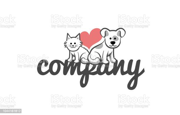 Dog and cat cute logo template vector id1044161812?b=1&k=6&m=1044161812&s=612x612&h=sicwf qb0 cvyjnjclha gh4zqcpannog jzv6f6reo=