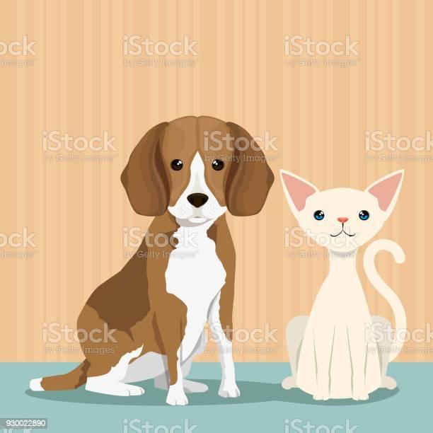 Dog and cat cute mascots vector id930022890?b=1&k=6&m=930022890&s=612x612&h=fo9x y0rt2qawpgnobb6uoakkigubingawhrwq8hzli=