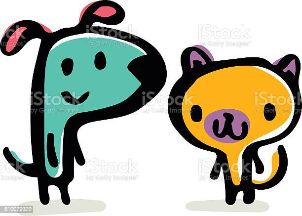 Dog and cat doodle vector id510079322?b=1&k=6&m=510079322&s=612x612&h=3ntcyz5f5un mcnxnbdwuctkm3 0u6 b7axvh0jozc4=