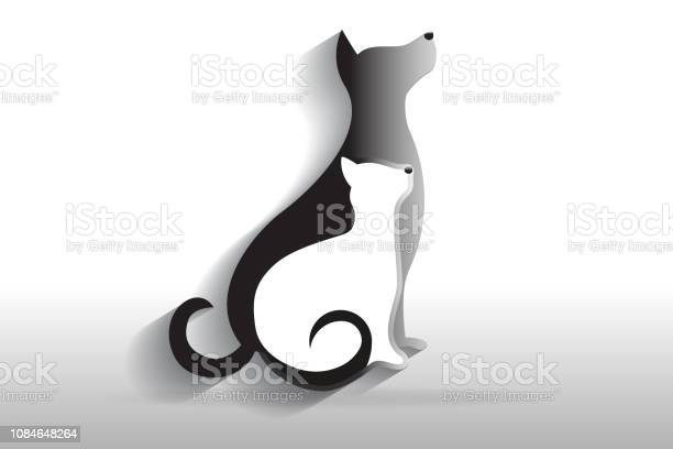 Dog and cat icon silhouettes vector id1084648264?b=1&k=6&m=1084648264&s=612x612&h=2cu5ii8dahujdjwlifzogg0qam 7mzpa8urc8fl6bms=