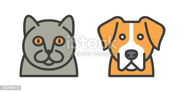 istock dog and cat icons 522866712