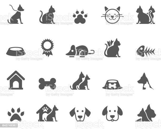 Dog and cat icons vector id645748062?b=1&k=6&m=645748062&s=612x612&h=onjrqbt2omb9pwyjvzs9chajff5h7nixgj3scjgpzzu=