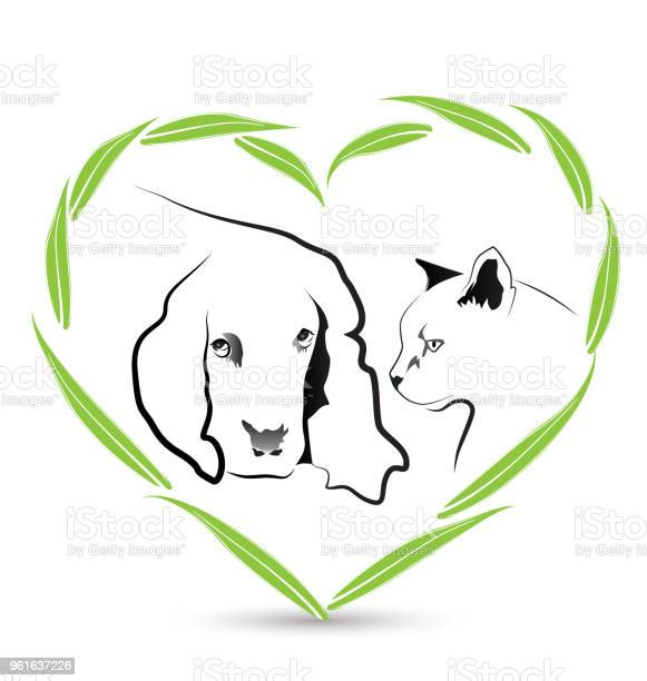 Dog and cat in a heart shape veterinary id card business icon vector id961637226?b=1&k=6&m=961637226&s=612x612&h=dl58hy5yiulzzhkwrphtfggcoqzglroowk9wvw6hzmg=
