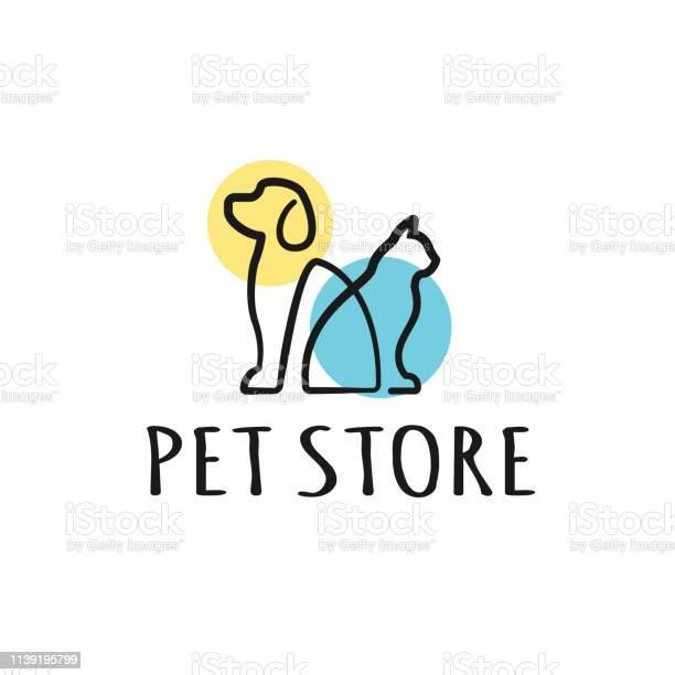 Dog and cat logo design template graphic sitting puppy logotype sign vector id1139195799?b=1&k=6&m=1139195799&s=612x612&h=bn7t8oahqhtgdg njfo8eyxk29g9u6x968kqxntdpt8=