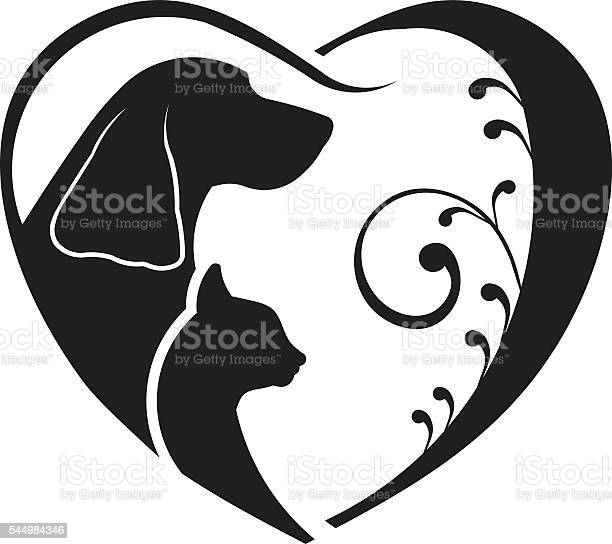 Dog and cat love heart vector graphic vector id544984346?b=1&k=6&m=544984346&s=612x612&h=7kegms8mzau7vyd8l qkjakeodv oofcssmpqms0ny8=
