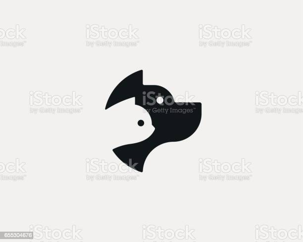 Dog and cat negative space logo design pet store logotype pet vector vector id655304676?b=1&k=6&m=655304676&s=612x612&h=tmxhftw5dm7hmgapeibfpdvy 3t2to9amqbeekrxlgi=