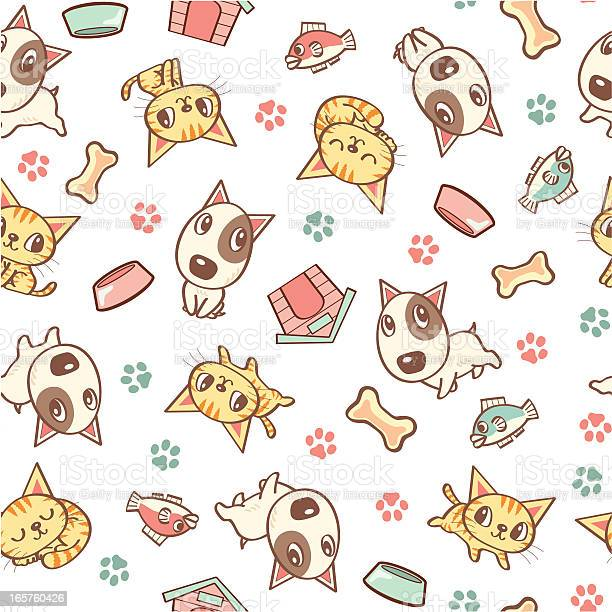 Dog and cat seamless pattern vector id165760426?b=1&k=6&m=165760426&s=612x612&h=3bhyqgyw9xfb043rmnshbyy4k76luj2wvsvungs17 q=