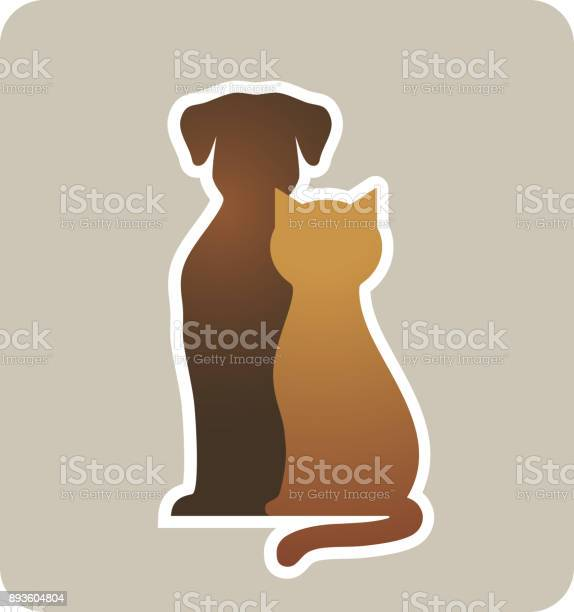 Dog and cat silhouettes vector id893604804?b=1&k=6&m=893604804&s=612x612&h=6qiysg4bm1tp8x0innrre3jwwlggu9bwtydilodsp a=