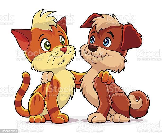 Dog and cat vector id500887853?b=1&k=6&m=500887853&s=612x612&h=qwxpqdnxucirxx 75iubjpd0o kghjzwzq6ywapi0ps=