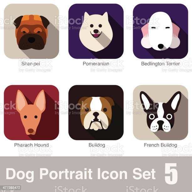 Dog animal face character icon series vector id477393472?b=1&k=6&m=477393472&s=612x612&h=d6itepym8nim9ndsdg mzl9xgoifko akxzrxd8mgtg=