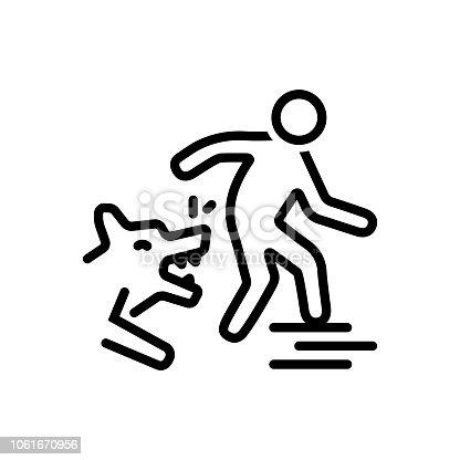 istock Dog attack 1061670956