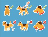 Dog Behaviour Icons