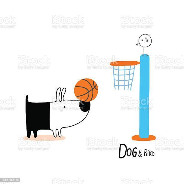 Dog bird playing basketball vector id618190160?b=1&k=6&m=618190160&s=612x612&h=wap xp2uehkrhxxp5xsge7xsmy8ewhbcrdfvkhrh34g=