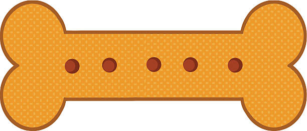 dog biscuit - dog treats stock illustrations