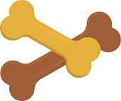 Dog bone animal food meal pet biscuit toy canine snack