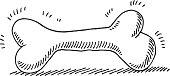Dog Bone Drawing
