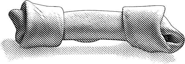 dog bone - dog treats stock illustrations