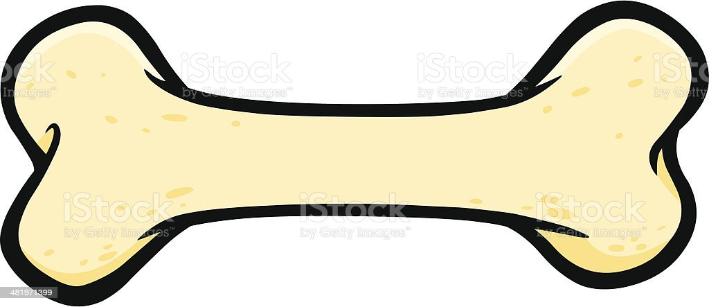 Dog Bone royalty-free stock vector art