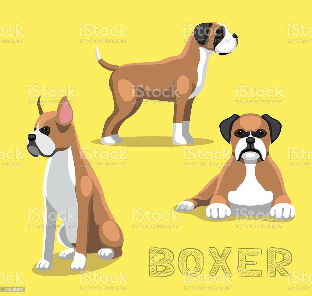 Chien boxer dessin - Dessin chien boxer ...
