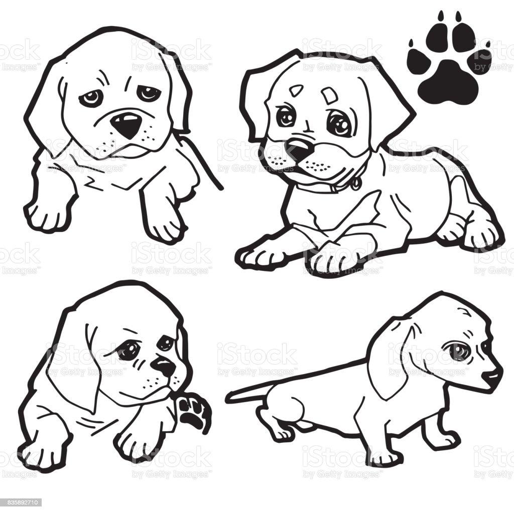ilustração de livro de colorir imprimir no vetor de fundo branco de