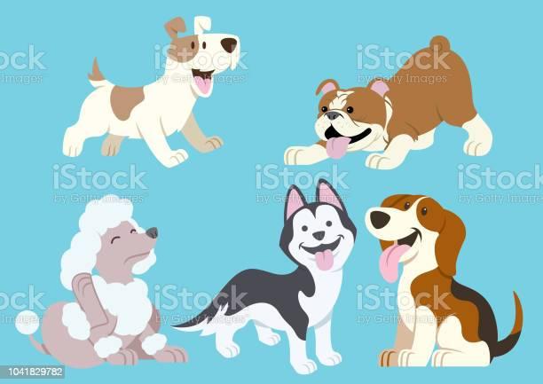 Dog cartoon set vector id1041829782?b=1&k=6&m=1041829782&s=612x612&h=xmqde2btooh1meesf evy6b4ana3xgvpldklh44pcqk=