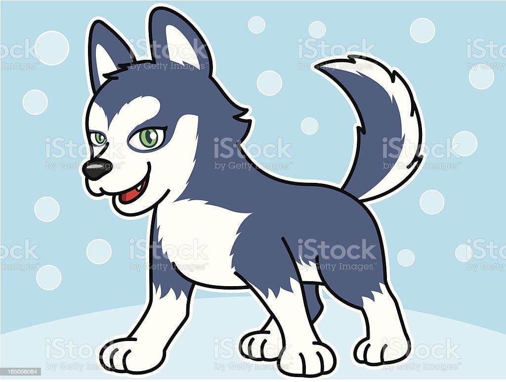 Dog Cartoon royalty-free stock vector art