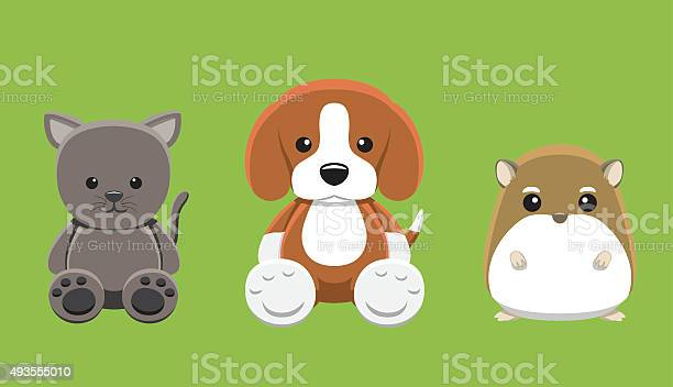 Dog cat hamster pet doll cartoon vector illustration vector id493555010?b=1&k=6&m=493555010&s=612x612&h=k52xfrabkvrzx6hkph8t7ifjlh6cir5vgti21ic5 ly=