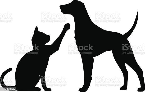 Dog cat play vector id177378120?b=1&k=6&m=177378120&s=612x612&h=t8jnhwjngwbtj7vh9 vlkv7qk8w rt5tarhlm6bwcqc=