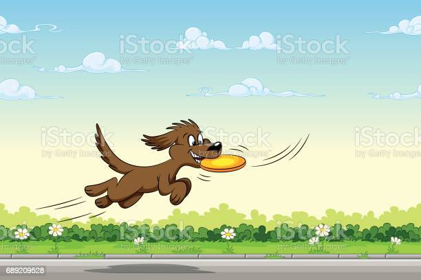 Dog catches a frisbee in the jump vector id689209528?b=1&k=6&m=689209528&s=612x612&h=tkl9lf62kkgtsc04eysda4rppsk16l2huefoybjdlpq=