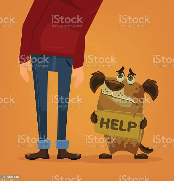 Dog character need home and help vector flat cartoon illustration vector id627391440?b=1&k=6&m=627391440&s=612x612&h=pjnz zmhdqngm5f3njlbr7xwtuldnrhmcf1zbdaqmog=