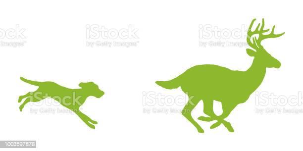 Dog chasing deer vector id1003597876?b=1&k=6&m=1003597876&s=612x612&h=iv3e011lzesonip9vjdyfzfeaujr1d7ecwfudepzm68=