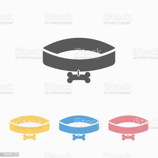 Dog collar icon vector id1093981100?b=1&k=6&m=1093981100&s=612x612&h=akqdmqib66v wlbhiamevzumu9nyopqq3akbim0yinq=