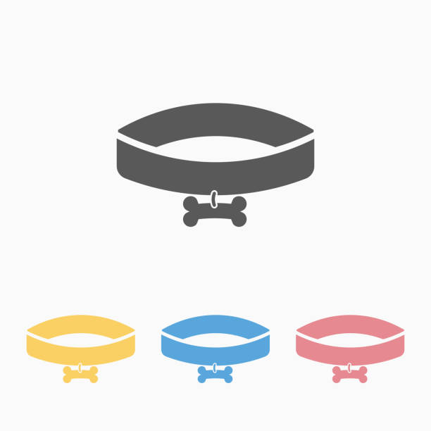 Best Dog Collar Illustrations, Royalty-Free Vector ...