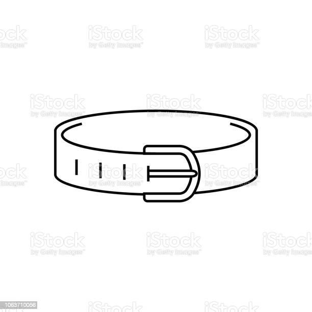 Dog collar line icon outline sign linear symbol vector flat vector id1063710056?b=1&k=6&m=1063710056&s=612x612&h=ww nl3onvxirhwbmnodzwzkshjccrrsrlvgaidjajaa=