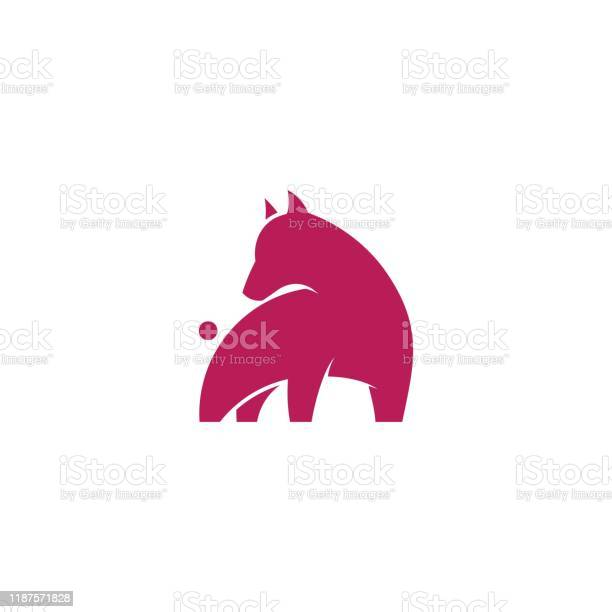 Dog design concept illustration vector template vector id1187571828?b=1&k=6&m=1187571828&s=612x612&h=ycpqi1ju8vhwaqghijj 6xg0xekd waxa996vmjlmr4=