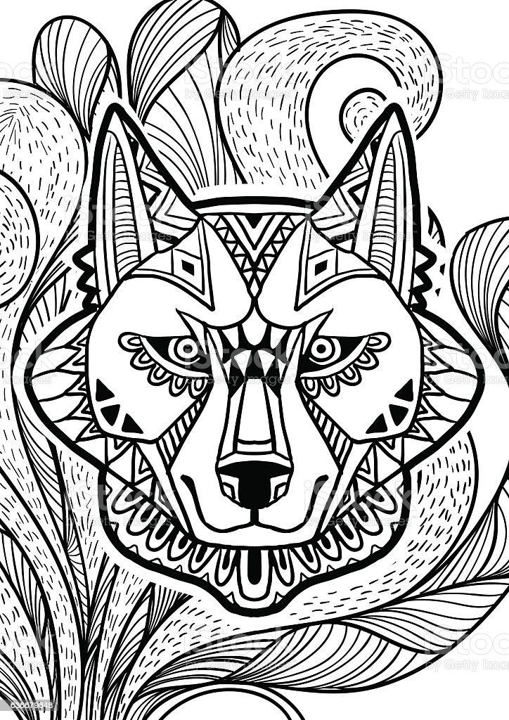 Dog Doodle Art Stock Illustration - Download Image Now - iStock