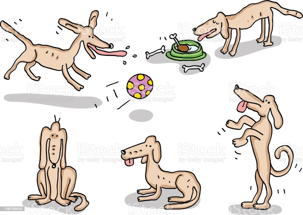 Dog doodles royalty-free dog doodles stock vector art & more images of animal